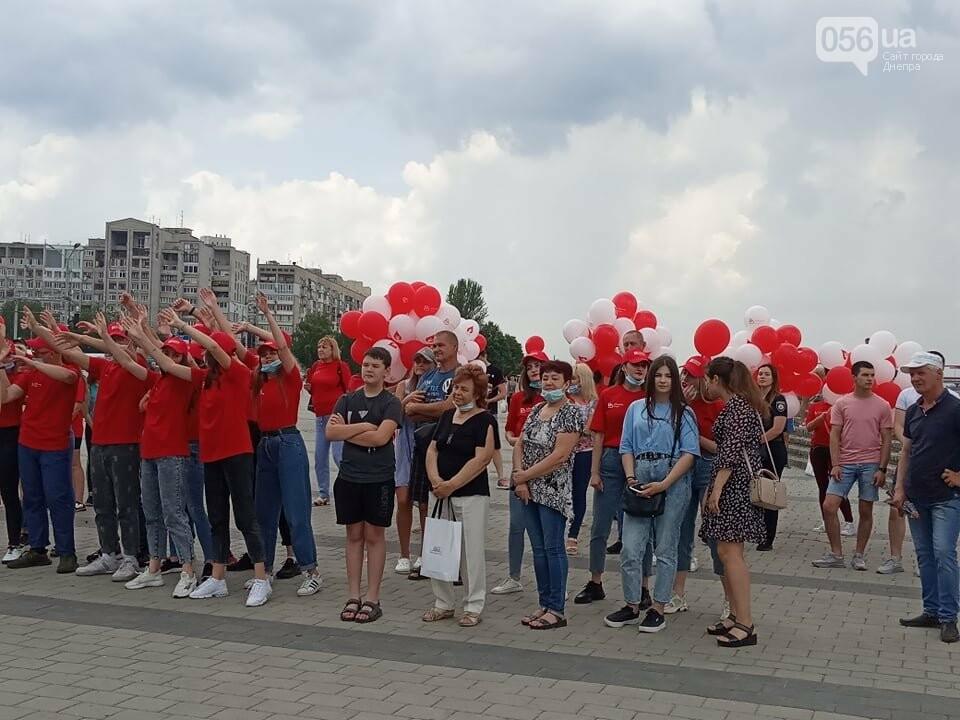 В Днепре Фестивальный причал стал красным, - ФОТО, ВИДЕО, фото-5