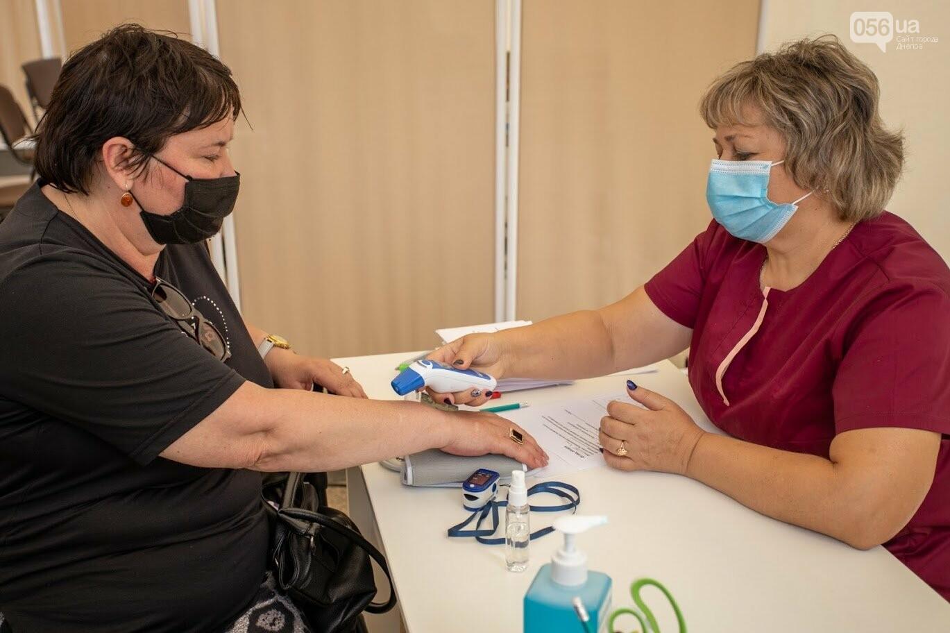 В Днепре открыли Областной центр вакцинации от COVID-19, - ФОТО, фото-7