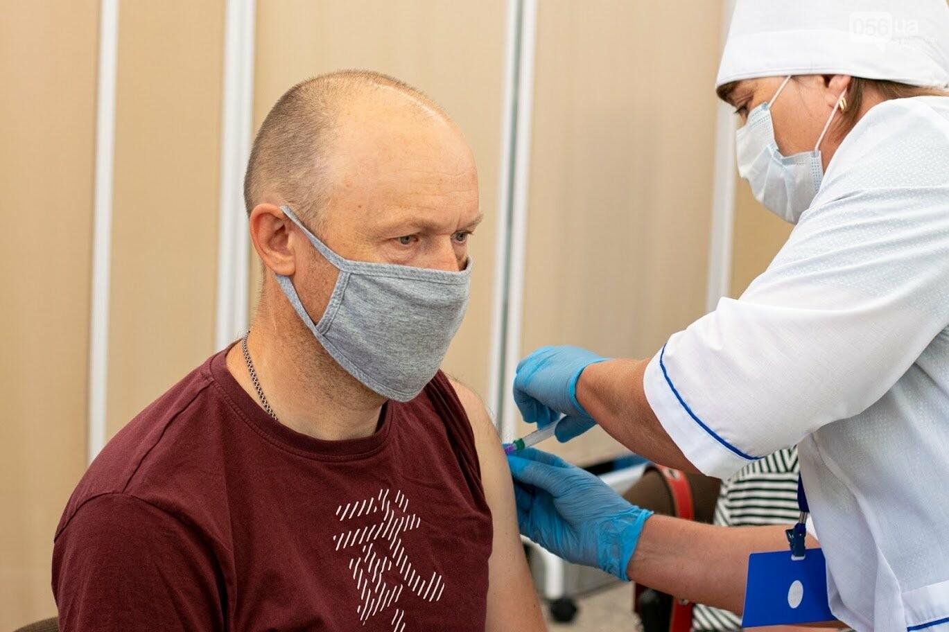 В Днепре открыли Областной центр вакцинации от COVID-19, - ФОТО, фото-6