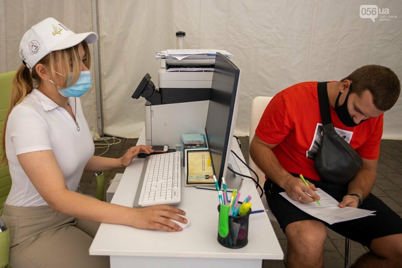 В Днепре открыли Областной центр вакцинации от COVID-19, - ФОТО, фото-5