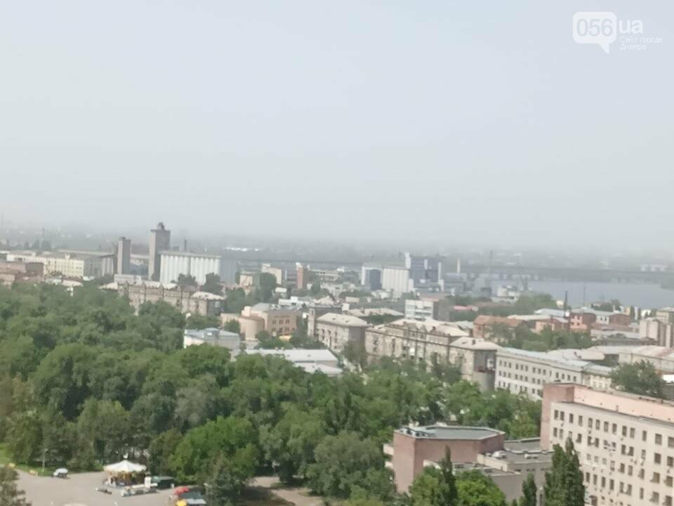 Весь город Днепр укутала белая дымка: что случилось, фото-4