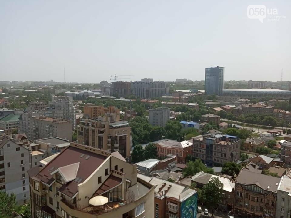 Весь город Днепр укутала белая дымка: что случилось, фото-6