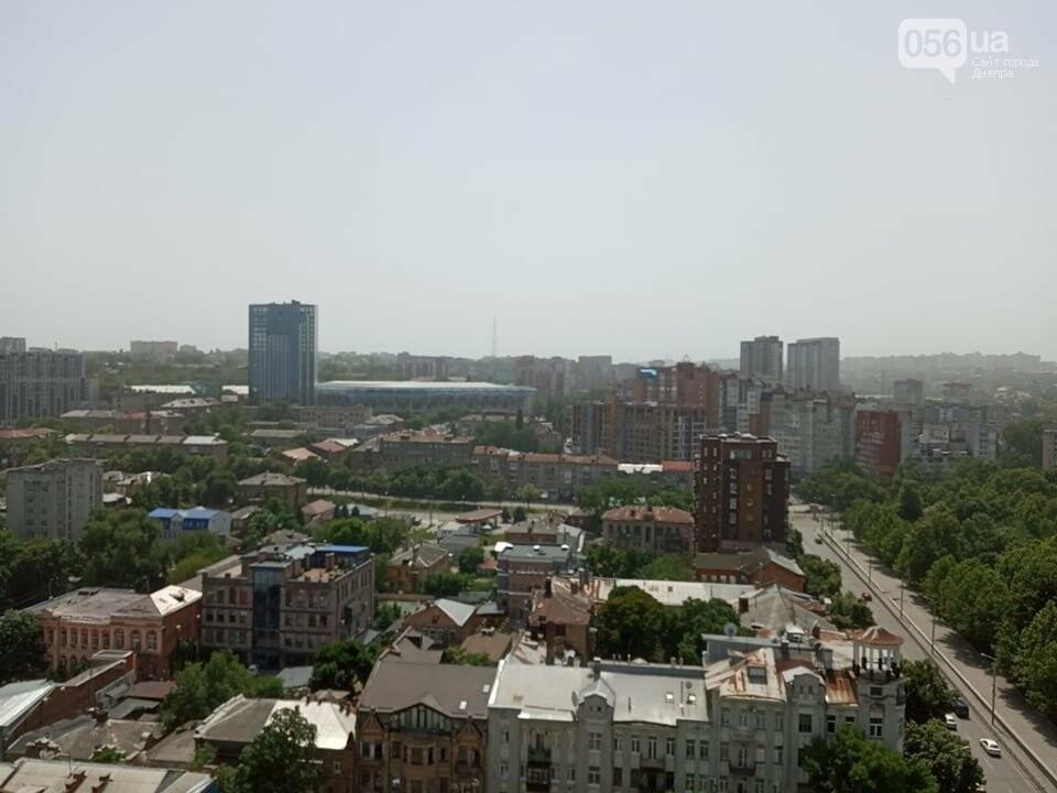 Весь город Днепр укутала белая дымка: что случилось, фото-3
