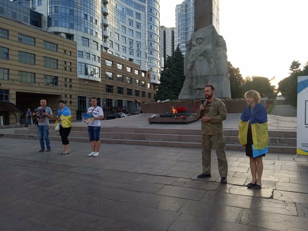 В Днепре активисты заявили, что победят Путина, - ФОТО, ВИДЕО, фото-10