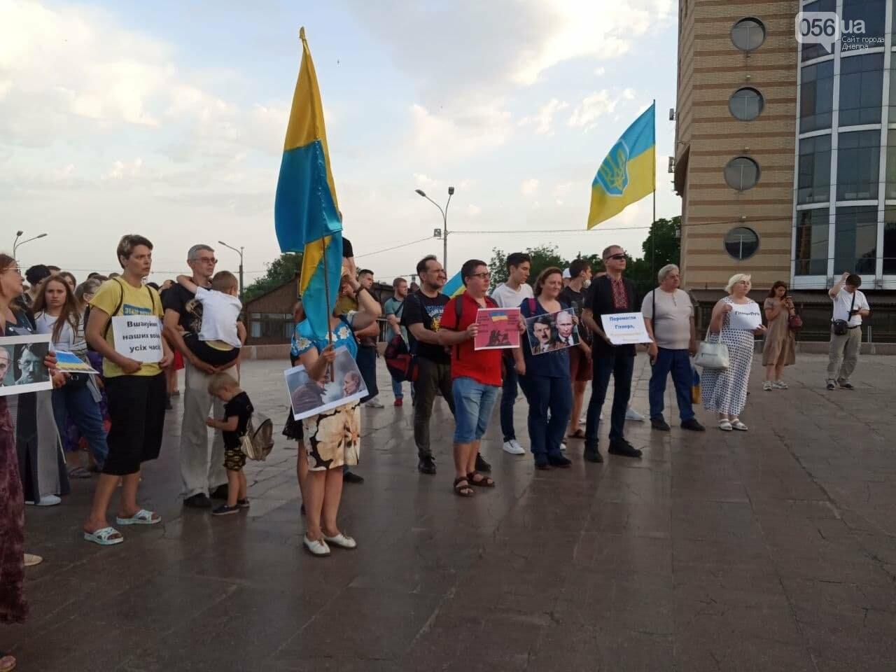 В Днепре активисты заявили, что победят Путина, - ФОТО, ВИДЕО, фото-8