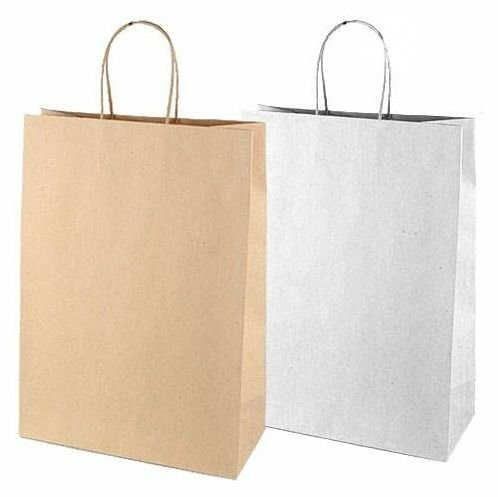 Бумажные пакеты с логотипом (печать на пакетах), фото-4