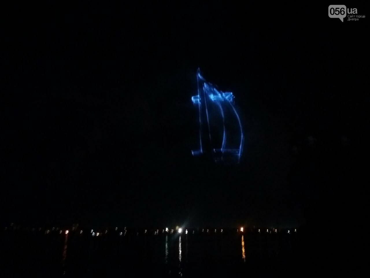 В Днепре возле Фестивального причала засветилась река, - ФОТО, ВИДЕО, фото-10