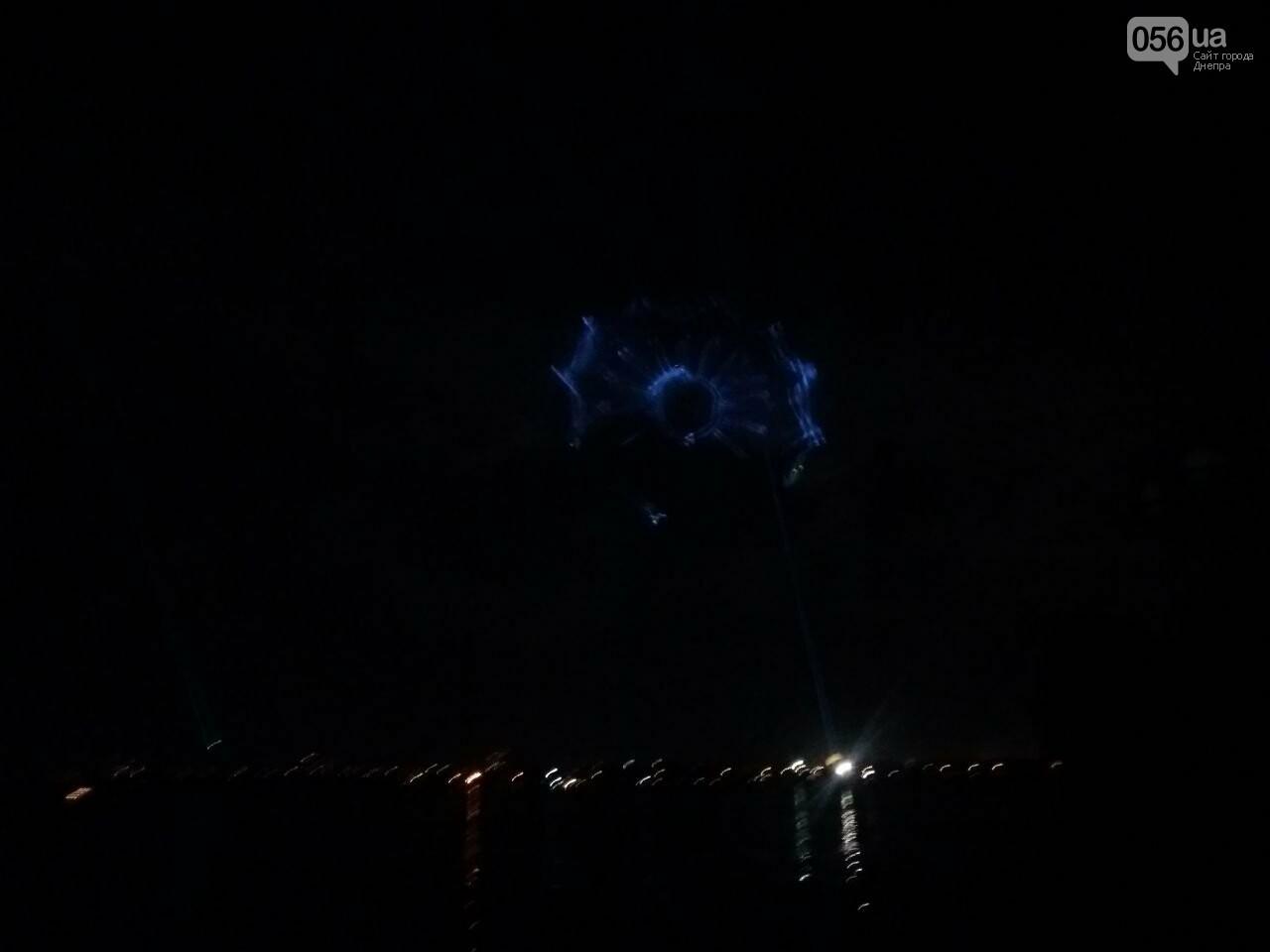 В Днепре возле Фестивального причала засветилась река, - ФОТО, ВИДЕО, фото-9