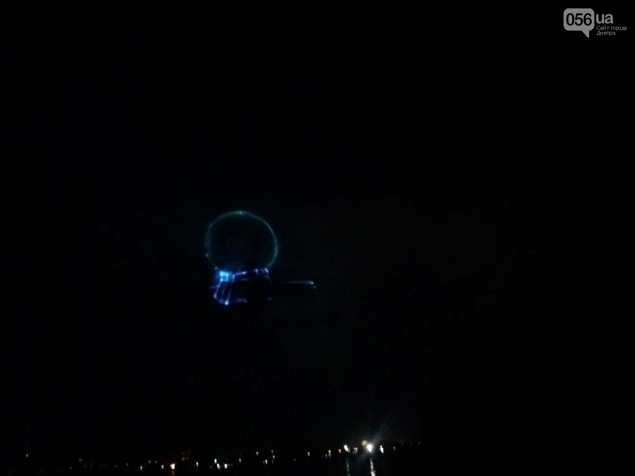 В Днепре возле Фестивального причала засветилась река, - ФОТО, ВИДЕО, фото-8