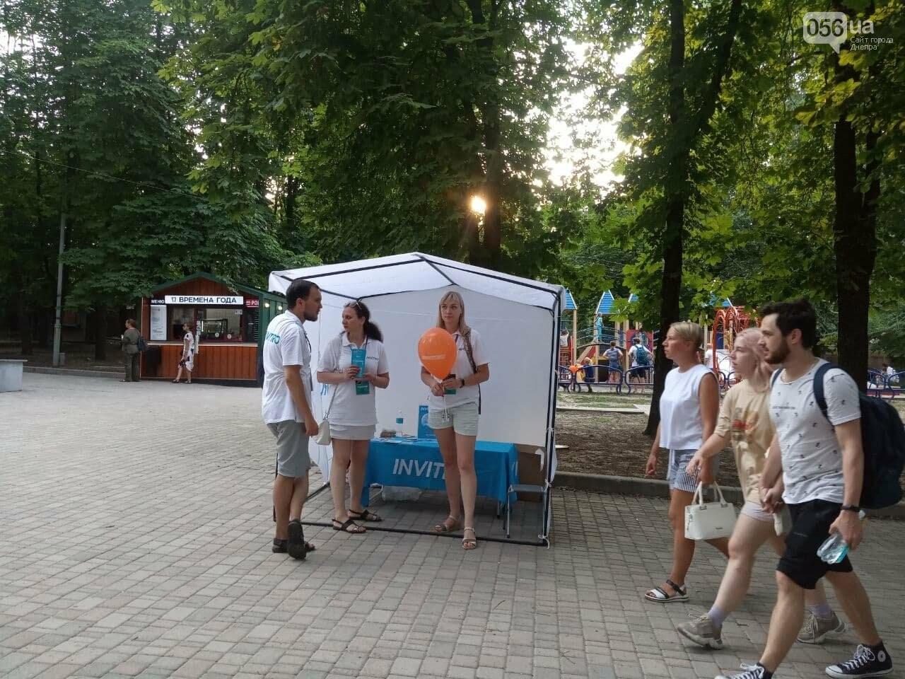 В Днепре по всей территории парка Шевченко звучит музыка нон-стоп, - ФОТО, ВИДЕО, фото-5