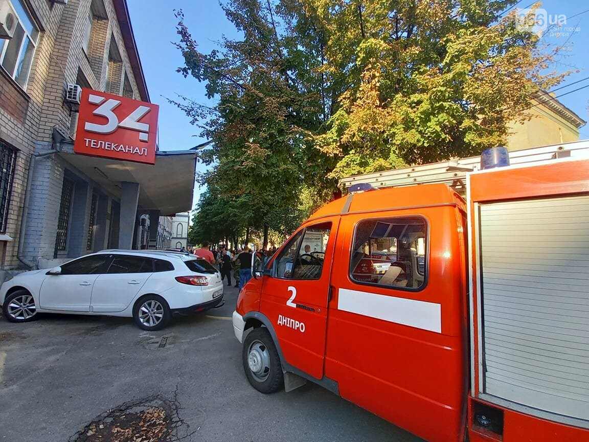 В Днепре заминировали здание 34 телеканала, - ФОТО, фото-2