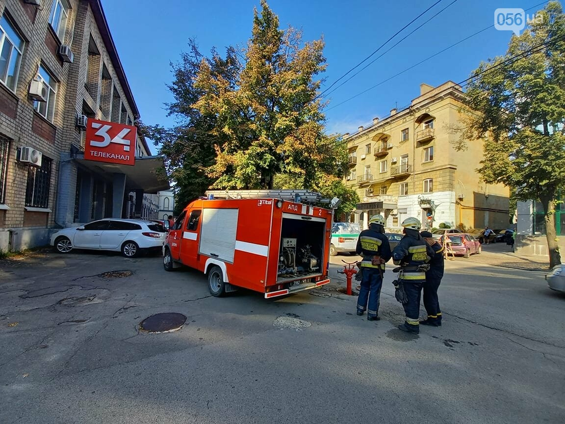 В Днепре заминировали здание 34 телеканала, - ФОТО, фото-4
