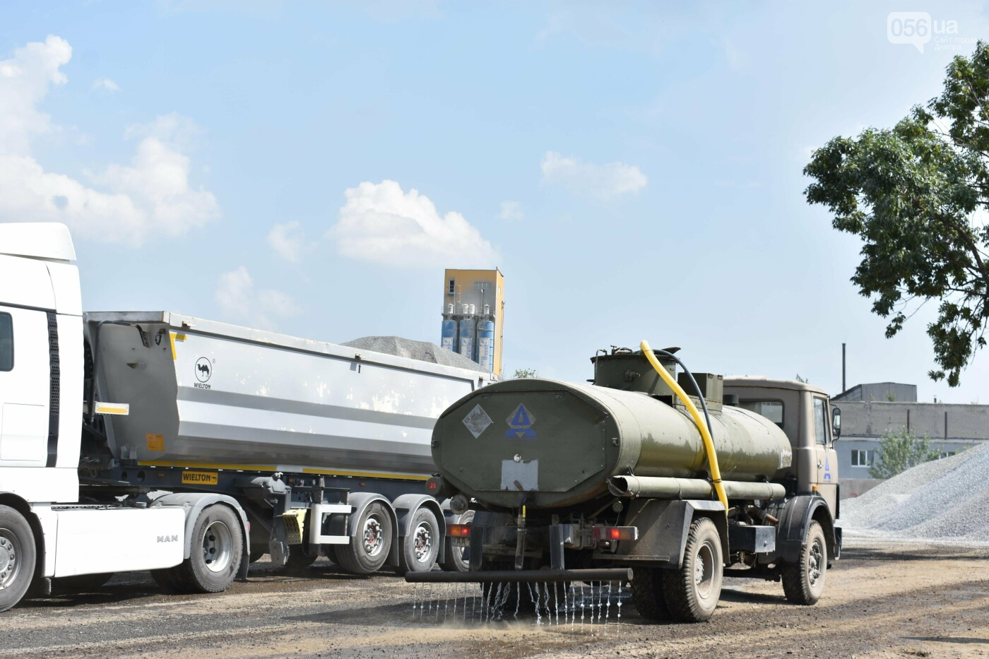 Ради ремонта дороги в Днепре и области построили самый мощный асфальтобетонный завод во всей Европе, - ФОТО, фото-3