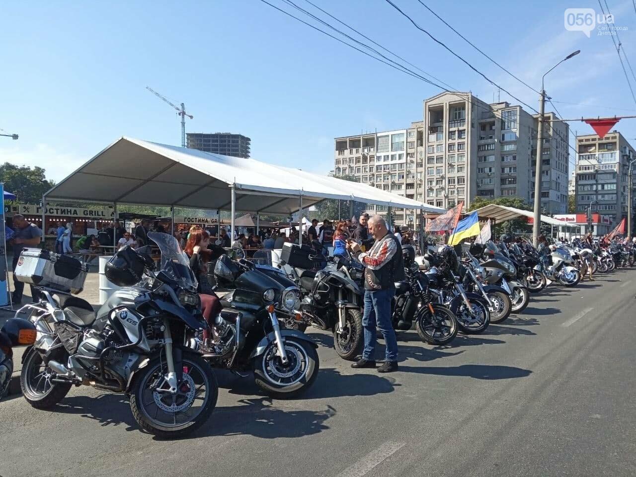 В Днепре байкеры сезон закрыли, но мотоциклы в гараж не поставили, - ФОТО, ВИДЕО, фото-1