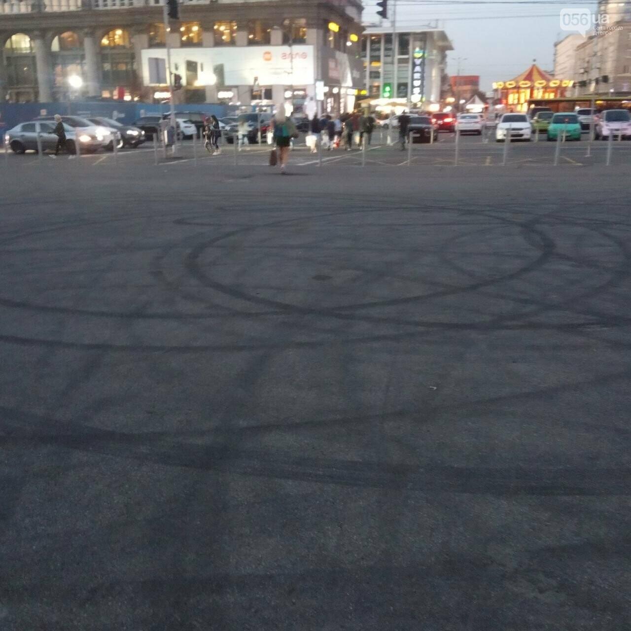 Дрифт в центре Киева спровоцировал скандал, а для Днепра стал шоу с жирными следами, - ФОТО, фото-15