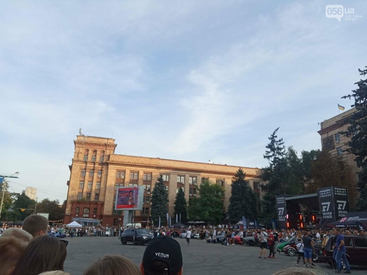 Дрифт в центре Киева спровоцировал скандал, а для Днепра стал шоу с жирными следами, - ФОТО, фото-7