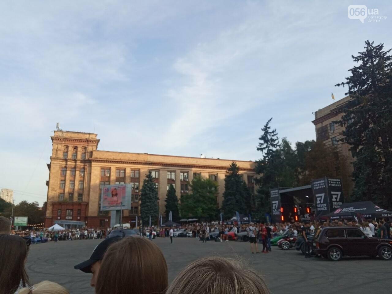Дрифт в центре Киева спровоцировал скандал, а для Днепра стал шоу с жирными следами, - ФОТО, фото-3