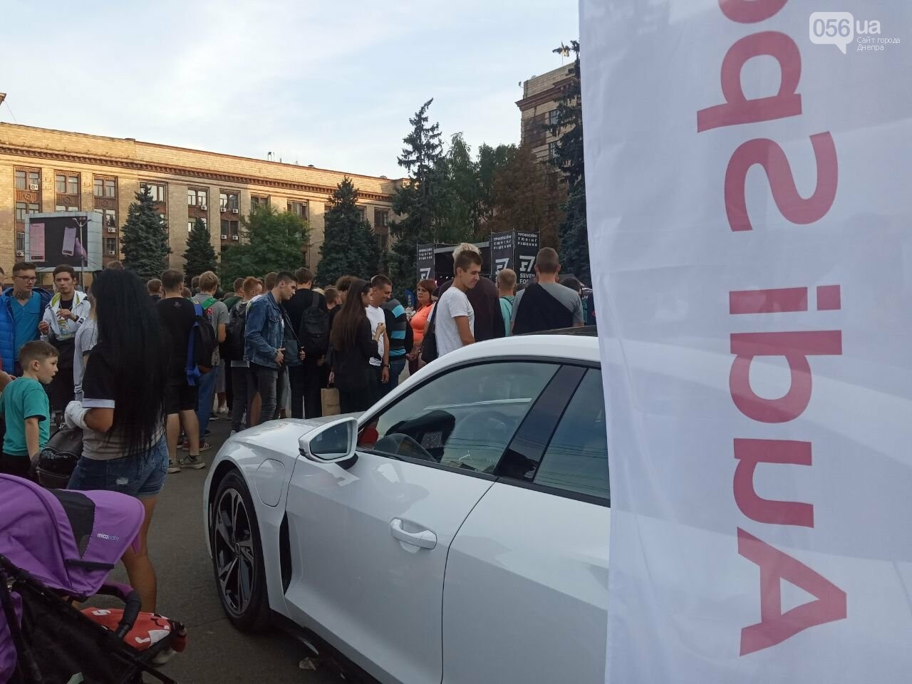 Дрифт в центре Киева спровоцировал скандал, а для Днепра стал шоу с жирными следами, - ФОТО, фото-1
