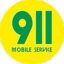 Логотип - 911 Mobile Service, сеть сервисных центров