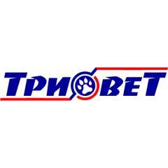 Логотип - ТРИОВЕТ - сеть ветеринарных клиник и зоомагазинов