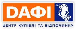 Логотип - ДАФИ, центр покупок и отдыха