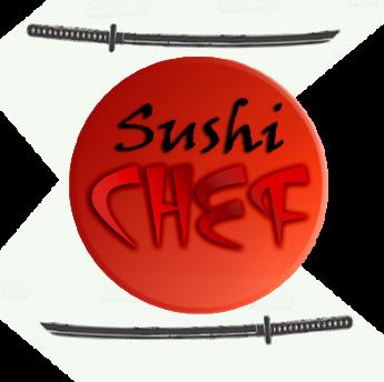 Логотип - (Суши шеф) Sushi Chef, доставка японской еды в Днепре
