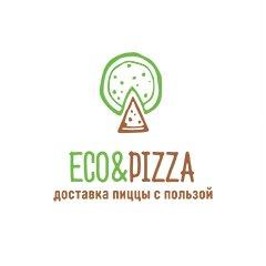 Логотип - Eco&Pizza - доставка пиццы с пользой !