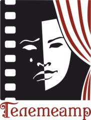 Логотип - Телетеатр (Дніпровський міський телевізійний театр)
