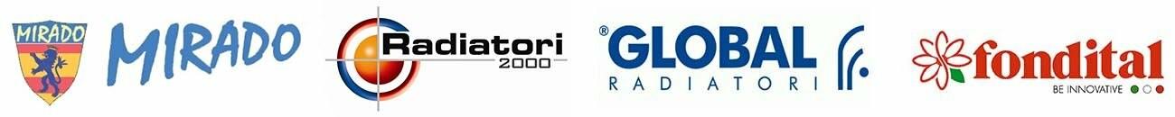 Global, Fondital, Radiatori2000 и Mirado.
