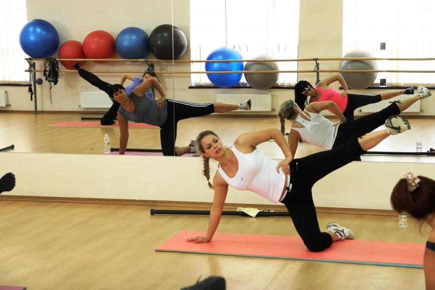 Групповые фитнес-тренировки в Акватории, фото-6