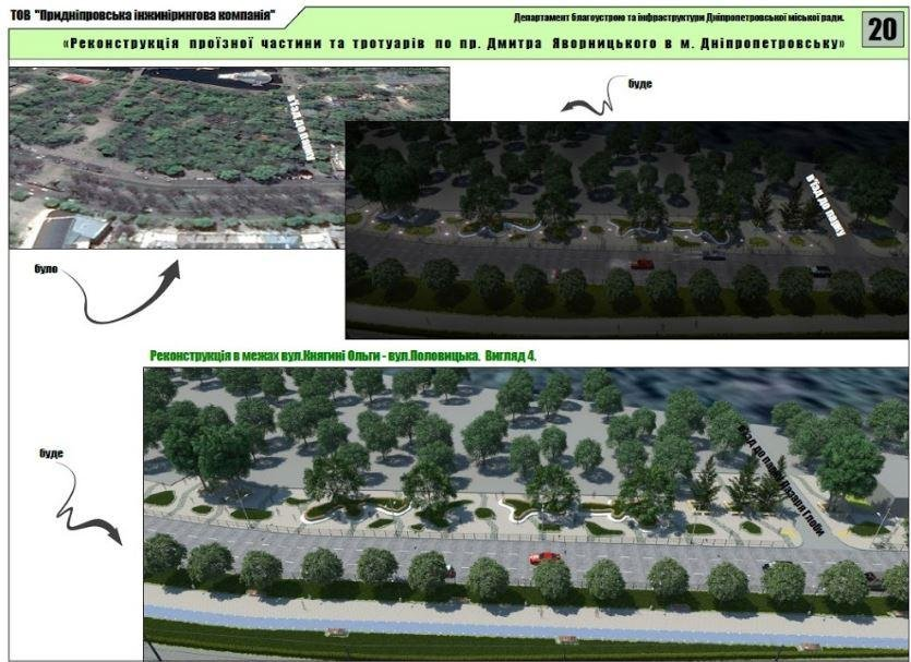 Велодорожки, избавление от МАФов и полный ремонт дорог: как будет выглядеть обновленный проспект Яворницкого (ФОТО), фото-2