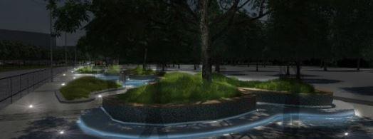 Велодорожки, избавление от МАФов и полный ремонт дорог: как будет выглядеть обновленный проспект Яворницкого (ФОТО), фото-8