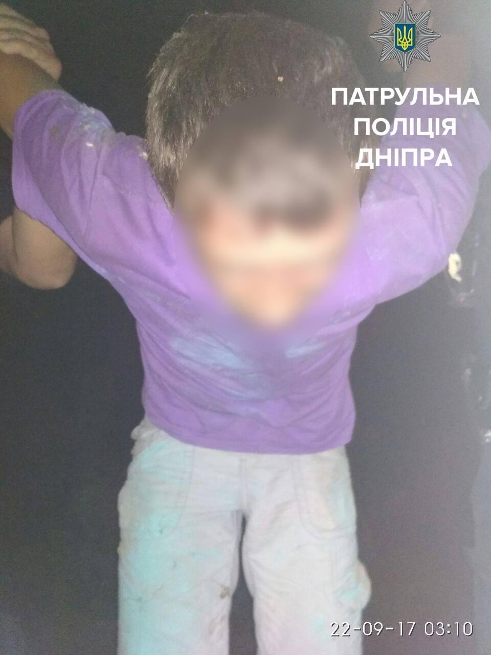 """В Днепре на """"горячем"""" поймали вора кабеля (ФОТО), фото-2"""