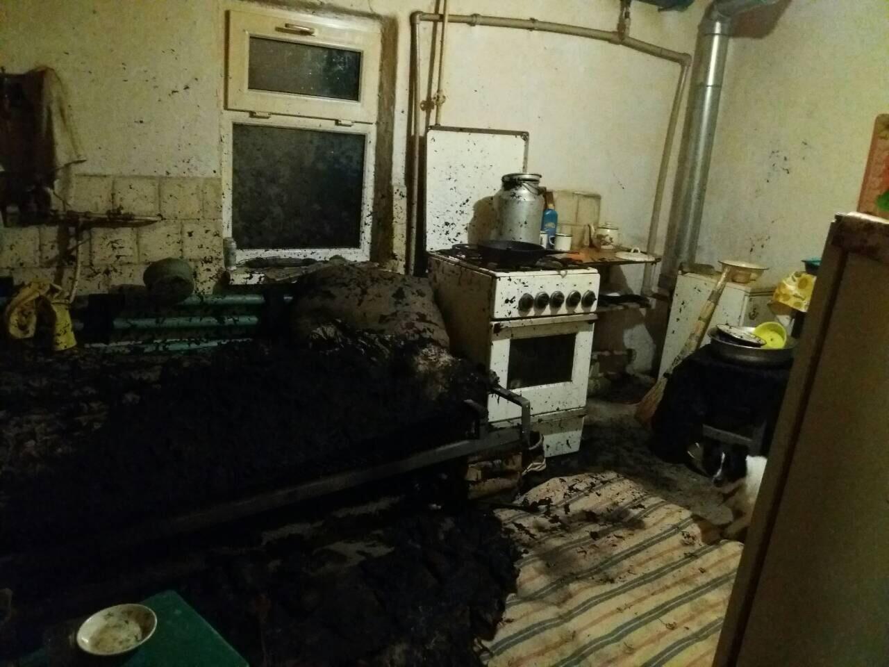 Не курите в кровати: в Днепропетровской области на пожаре погиб мужчина (ФОТО), фото-1