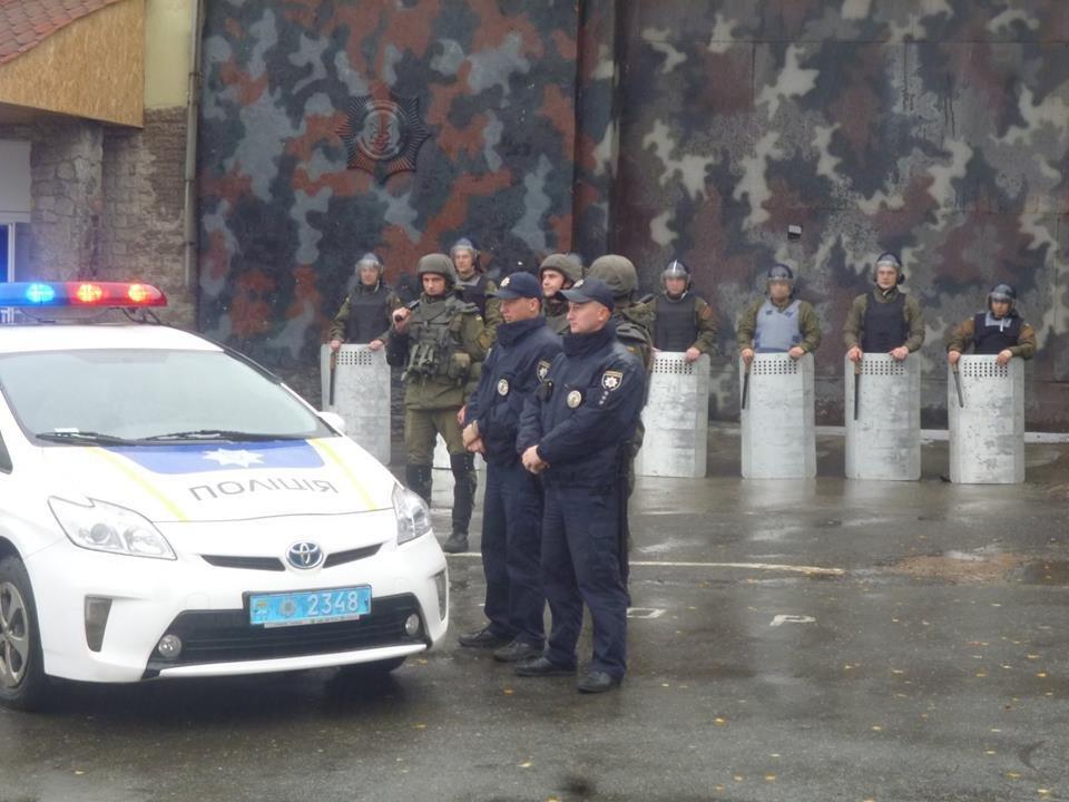 В колонии Днепра учились подавлять массовые беспорядки (ФОТО) , фото-3