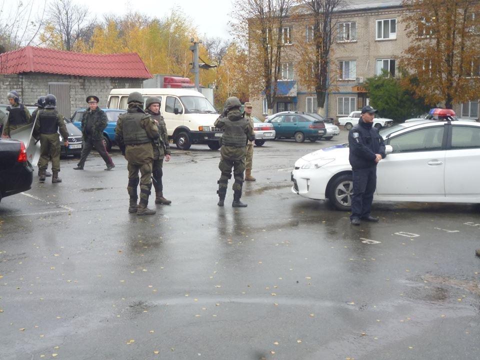 В колонии Днепра учились подавлять массовые беспорядки (ФОТО) , фото-4