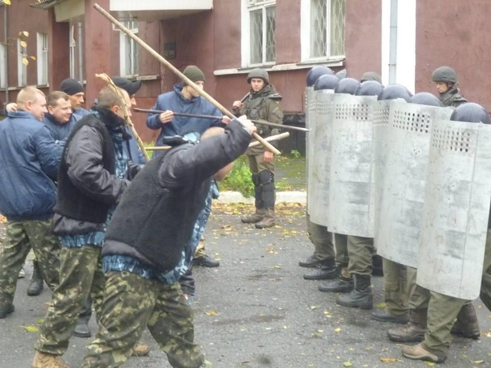 В колонии Днепра учились подавлять массовые беспорядки (ФОТО) , фото-5