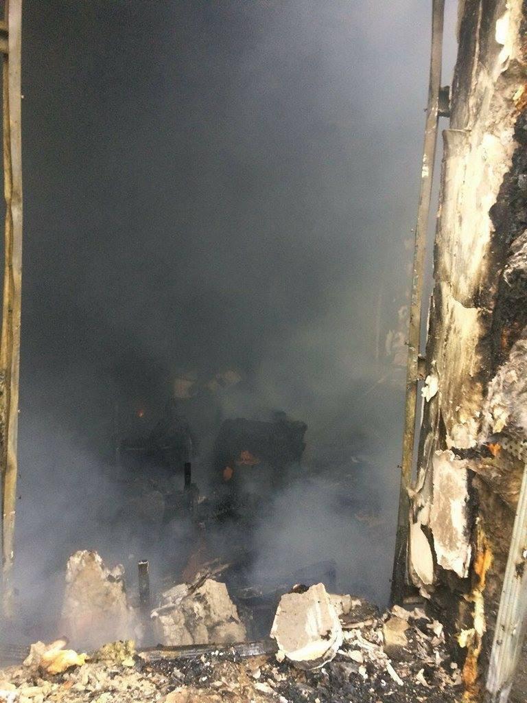 На Днепропетровщине загорелось административное здание (ФОТО, ВИДЕО) , фото-2