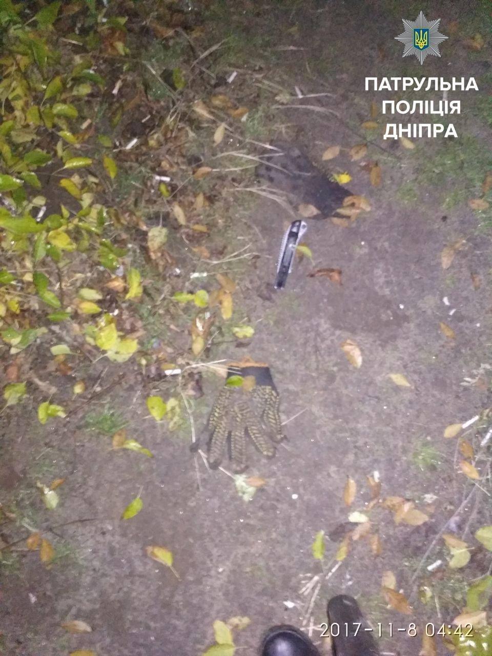 """Днепровские копы на """"горячем"""" поймали воров кабеля (ФОТО), фото-2"""