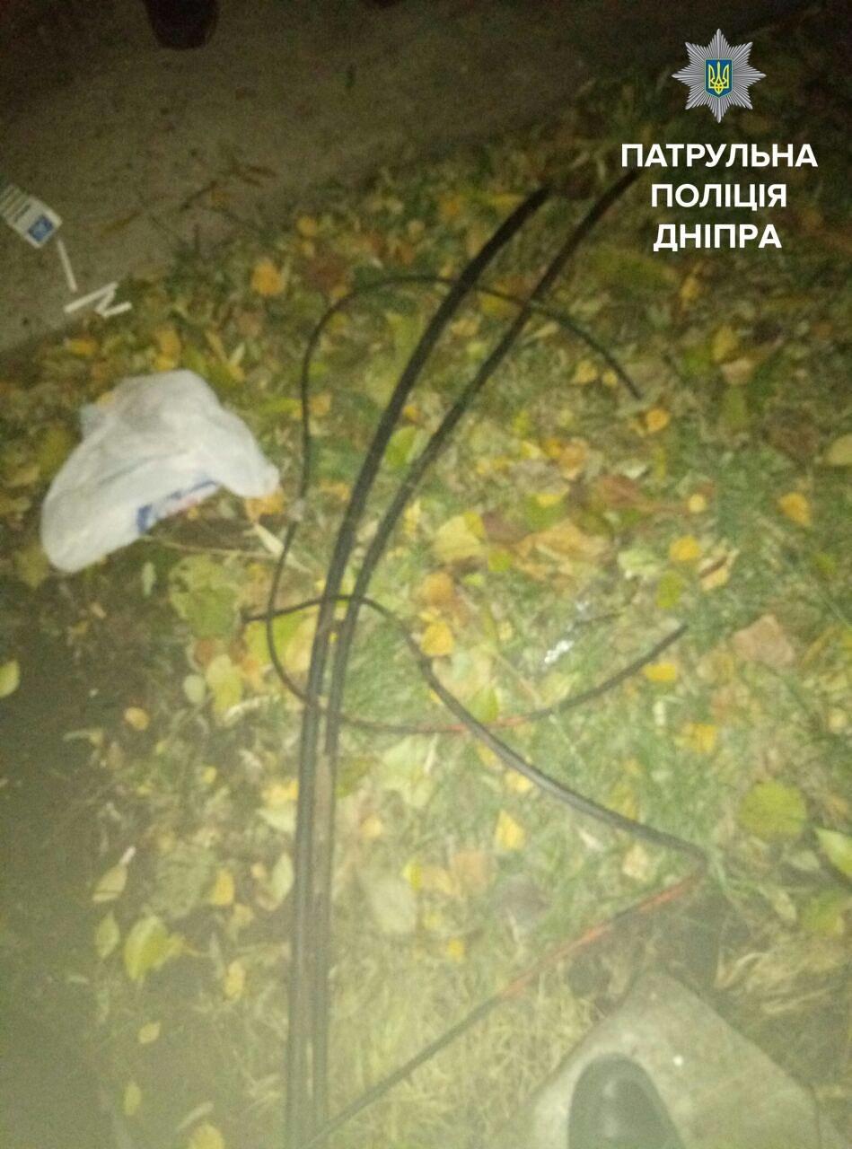 В Днепре поймали мужчину, который вырезал кабель (ФОТО), фото-2