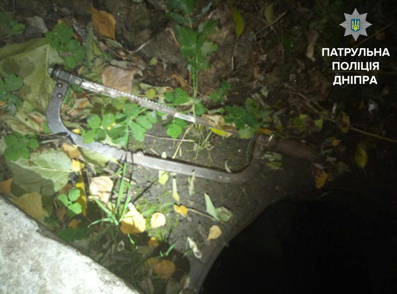 В Днепре поймали мужчину, который вырезал кабель (ФОТО), фото-1