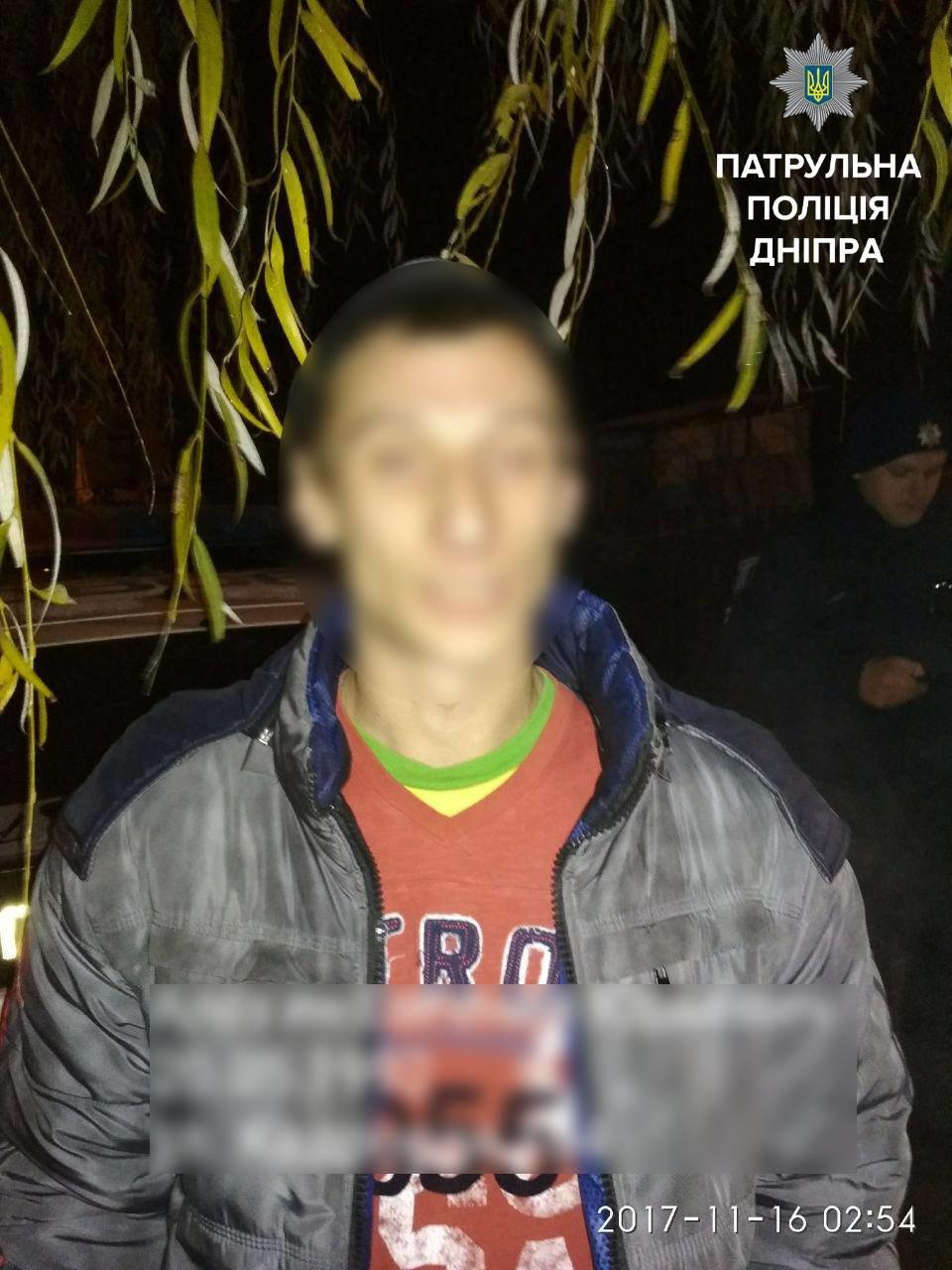 Днепровские копы задержали угонщиков мопеда (ФОТО), фото-2