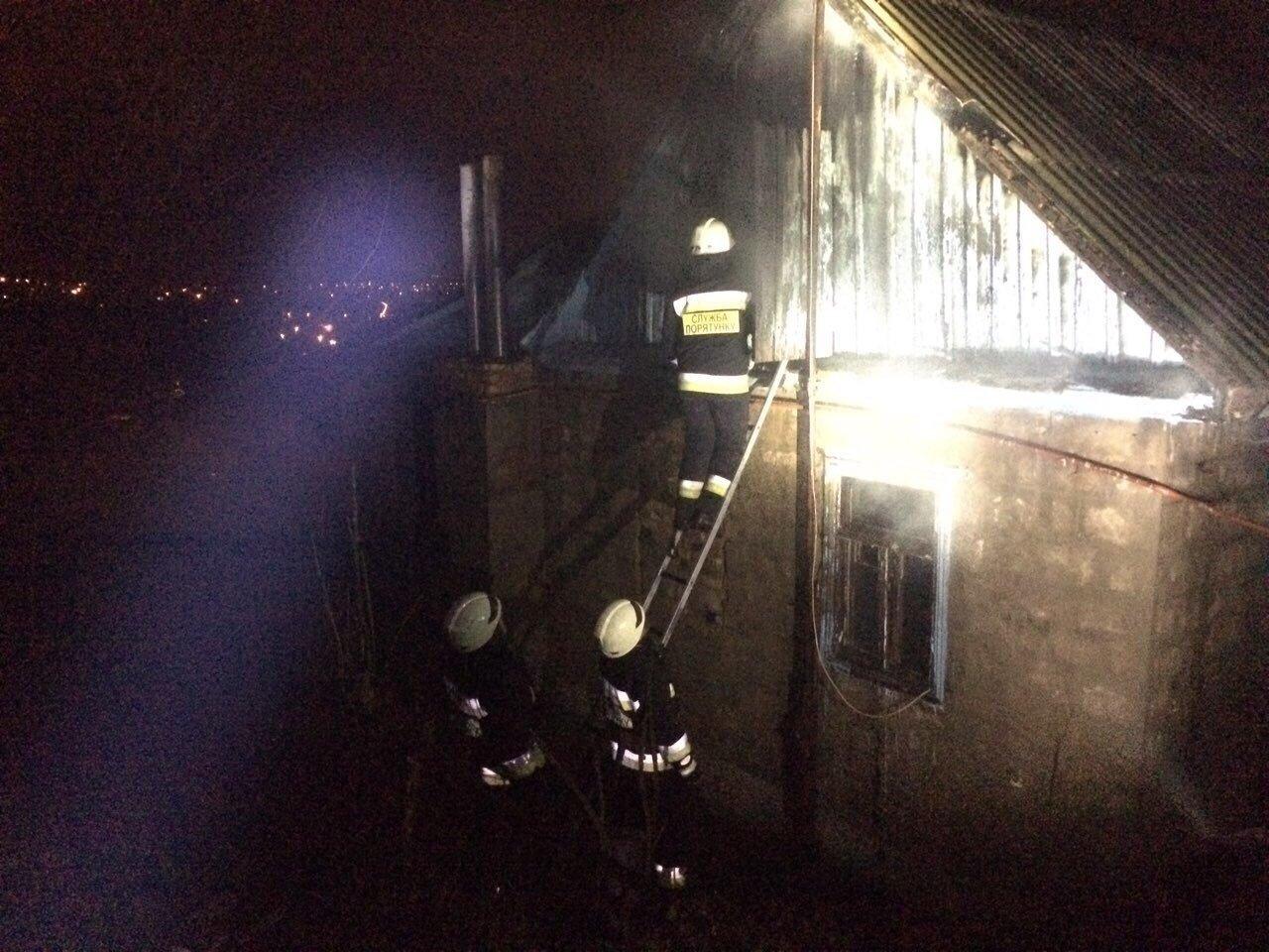 В Днепре спасатели три часа боролись с огнем (ФОТО,  ВИДЕО) , фото-3