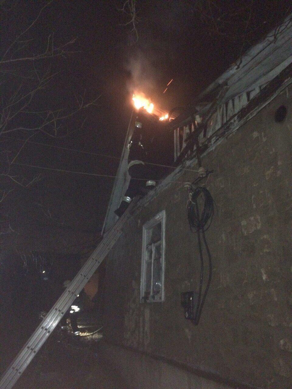 В Днепре спасатели три часа боролись с огнем (ФОТО,  ВИДЕО) , фото-4
