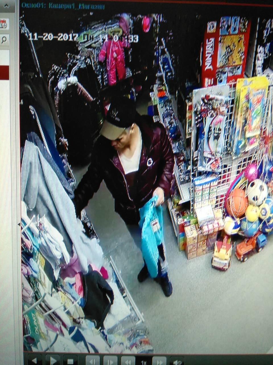 В Днепре на Рабочей украли  детский костюм (ФОТО, ВИДЕО), фото-2