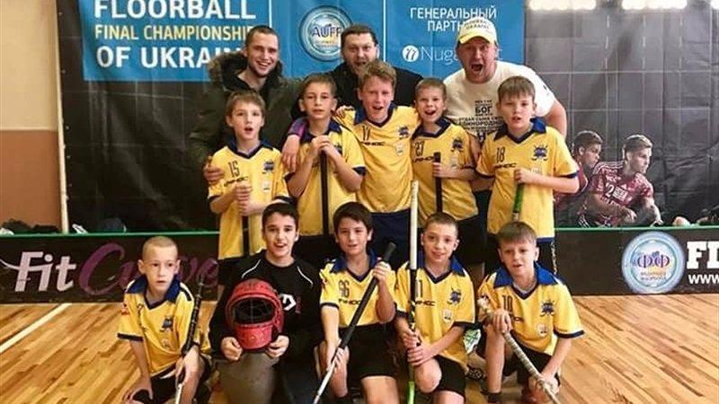 Команда из Днепра победила в первом туре чемпионата Украины по флорболу, фото-1