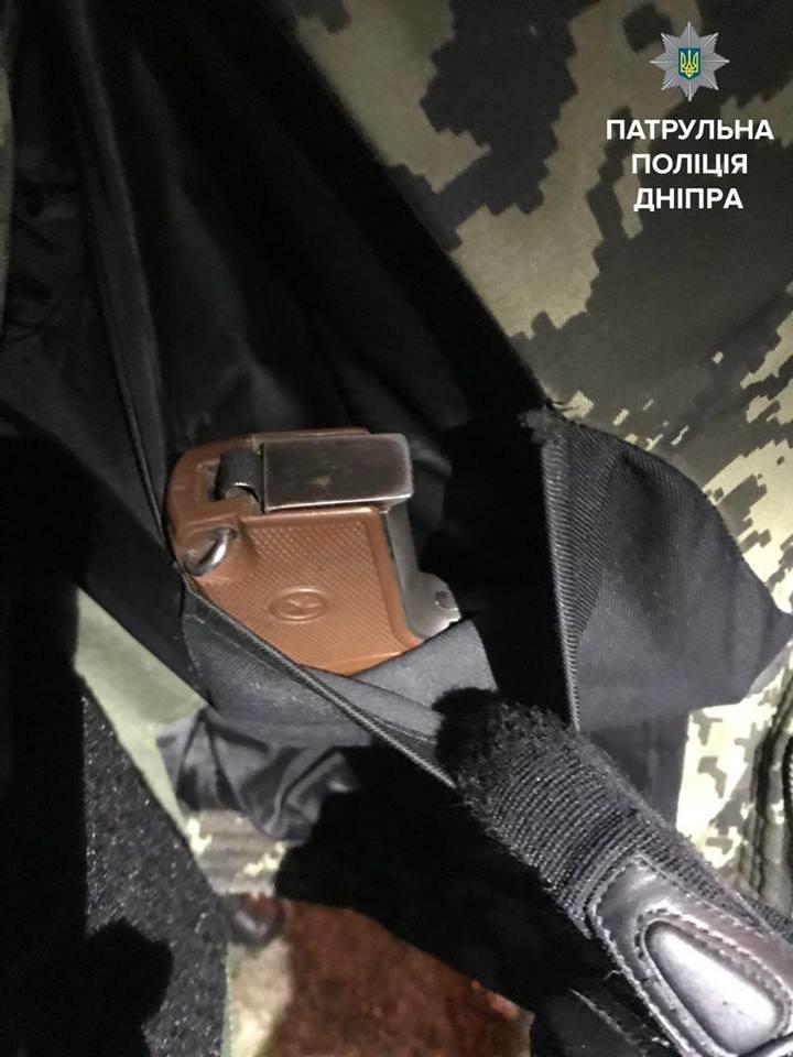 В Днепре неизвестный угрожал посетителям магазина пистолетом (ФОТО), фото-1