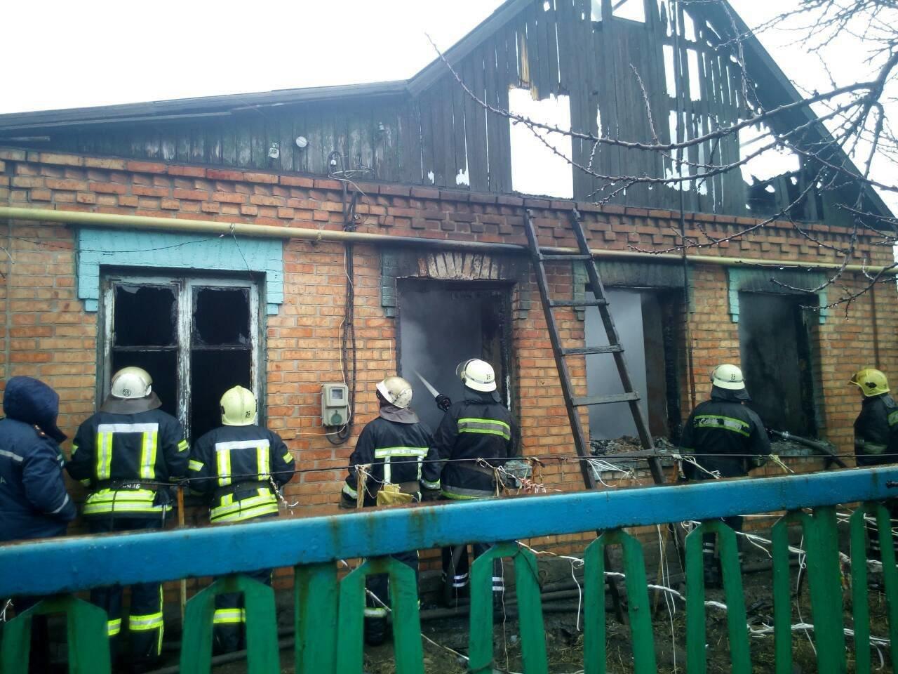 На Днепропетровщине в частном доме сгорел пенсионер (ФОТО), фото-2