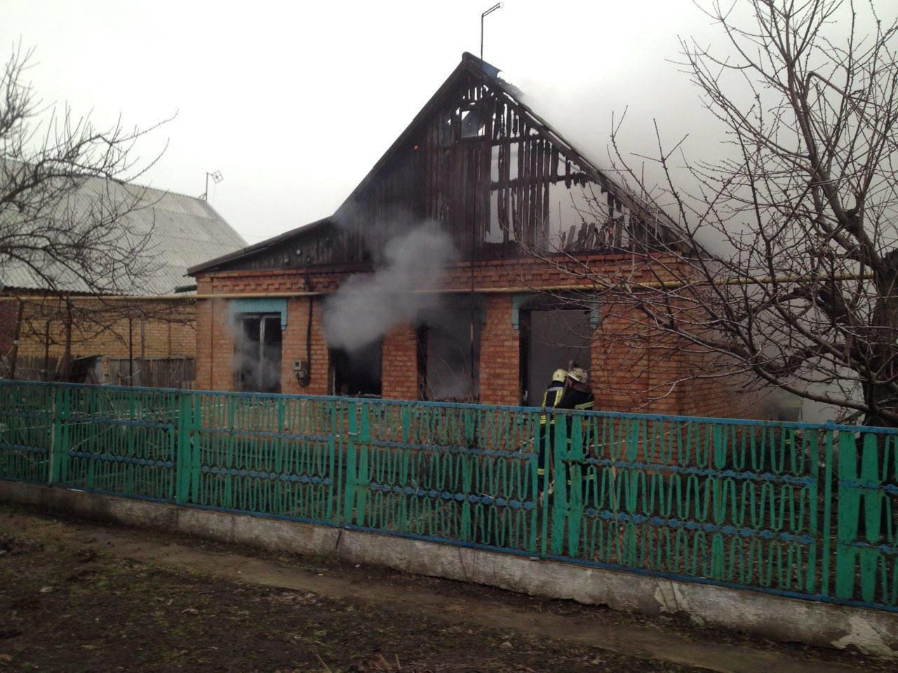 На Днепропетровщине в частном доме сгорел пенсионер (ФОТО), фото-1