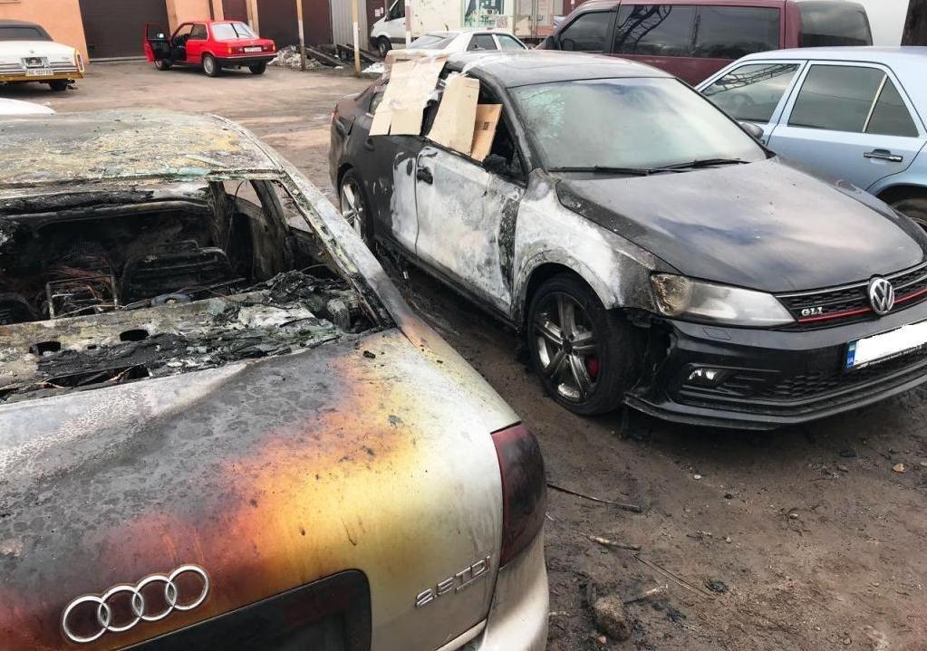 В Днепропетровской области сгорело 5 иномарок: что произошло (ФОТО), фото-2